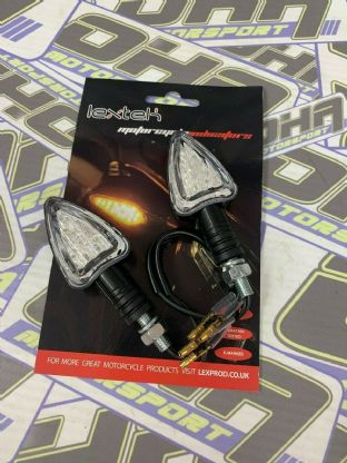 1 Pair x Mini LED Arrow Indicators 12V - E Marked